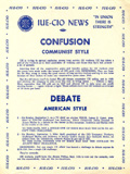IUE-CIO News bulletin, ca. 1951