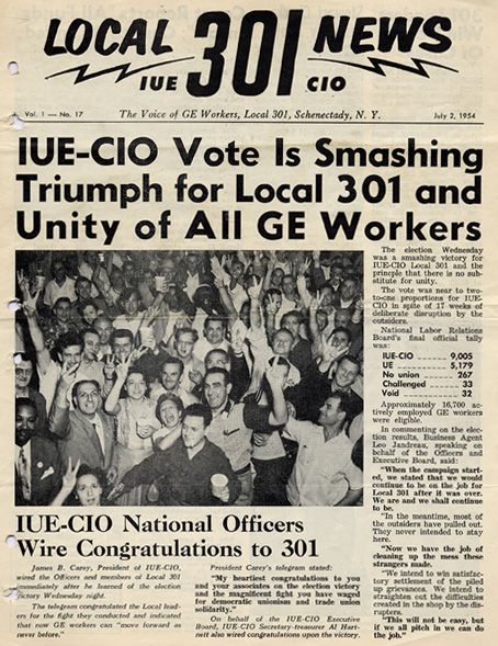 Local 301 News, July 2, 1954